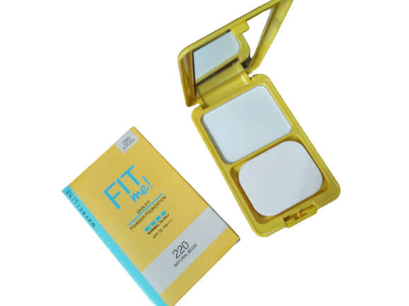 Polvo Maybelline Fit me Amarillo