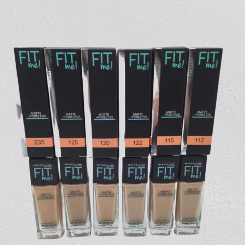 Base Maybelline Fitme matte 30 ml (vidrio) -15 % Dcto